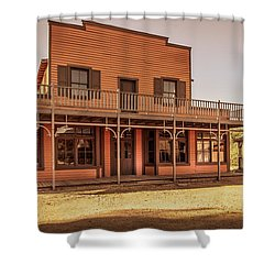 Paramount Ranch Saloon Shower Curtain