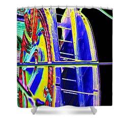 Paramount Theater Detail Shower Curtain by Tim Allen