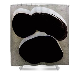 Paranormale Stones Shower Curtain