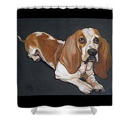 Pardner Shower Curtain by Jeanette Jarmon