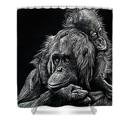 Parenthood Shower Curtain