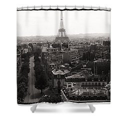 Paris 1966 Shower Curtain
