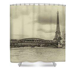 Paris 2 Shower Curtain