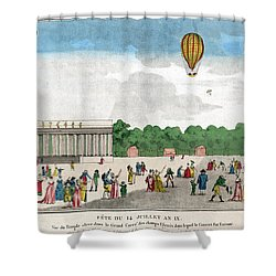 Paris: Bastille Day, C1801 Shower Curtain by Granger