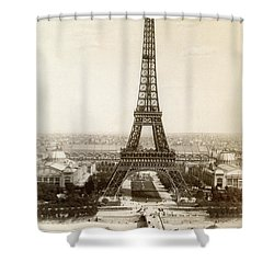 Paris: Eiffel Tower, 1900 Shower Curtain by Granger