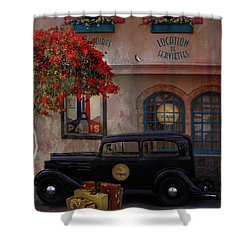 Shower Curtain featuring the digital art Paris In Spring by Jeff Burgess