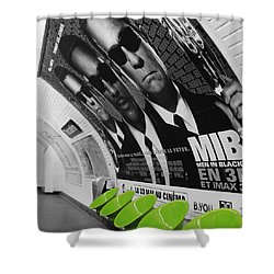 Paris Metro 4 Shower Curtain by Andrew Fare