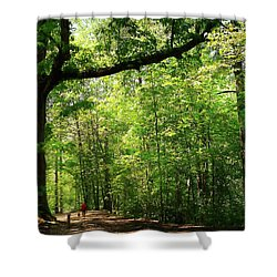 Paris Mountain State Park South Carolina Shower Curtain