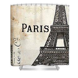 Paris, Ooh La La 1 Shower Curtain