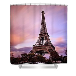 Paris Pastels Shower Curtain