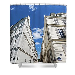 Shower Curtain featuring the photograph Paris Photography - Quai D-orleans by Melanie Alexandra Price