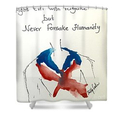 Shower Curtain featuring the painting Paris, Pour Toi by Trilby Cole