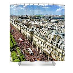 Paris Pride March 2018 Shower Curtain