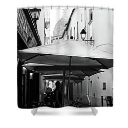 Paris Scene Shower Curtain
