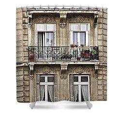 Paris Windows Shower Curtain by Elena Elisseeva