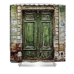Parisian Door No. 32 Shower Curtain