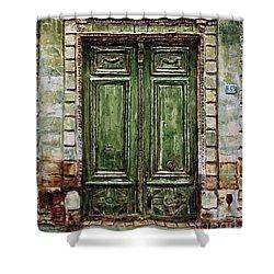 Parisian Door No. 32 Shower Curtain by Joey Agbayani