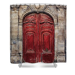 Parisian Door No.49 Shower Curtain