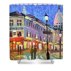 Parisian Street Shower Curtain
