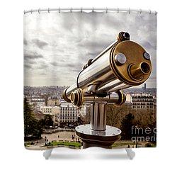 Parisian View Shower Curtain