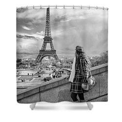 Parisien 2 Shower Curtain