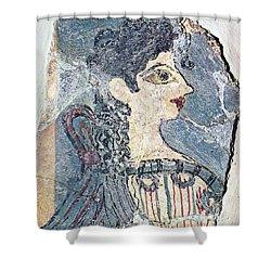Parisiene Shower Curtain by Andonis Katanos