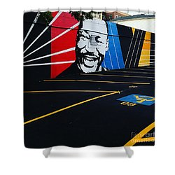 Park And Lead Or Leave And Follow Shower Curtain
