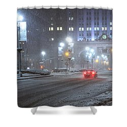 Park Avenue Manhattan New York Near The Helmsley Building Shower Curtain