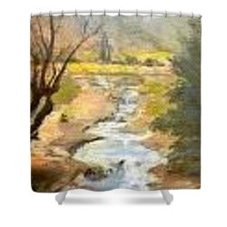 Park Creek Shower Curtain