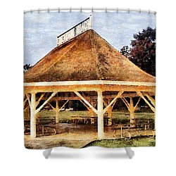Park Gazebo Shower Curtain