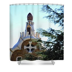 Park Guell Shower Curtain