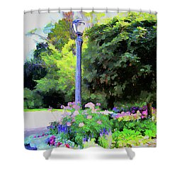 Park Light Shower Curtain