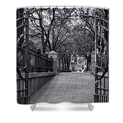 Park Place Shower Curtain