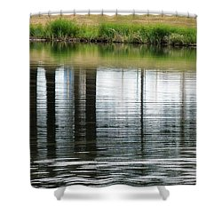 Park Reflections Shower Curtain