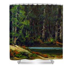 Park Refuge Shower Curtain