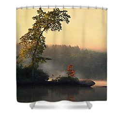Shower Curtain featuring the photograph Parker Morning by Joy Nichols