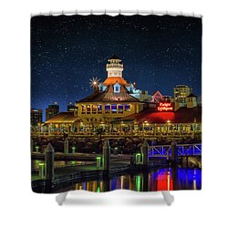 Parkers Lighthouse Shower Curtain