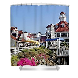 Parkers' Lighthouse Shower Curtain