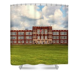 Parkersburg High School - West Virginia Shower Curtain by L O C