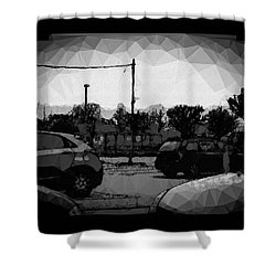 Parking Shower Curtain by Mimulux patricia no No