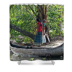 Parking Spot Shower Curtain by Marion Galt
