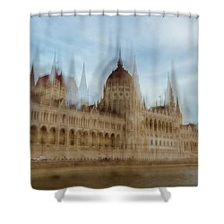 Shower Curtain featuring the photograph Parliamentary Procedure by Alex Lapidus