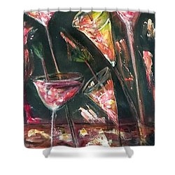 Parrrty One Shower Curtain