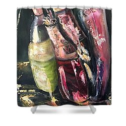 Parrrty Two Shower Curtain