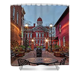 Parry Court 2 Shower Curtain