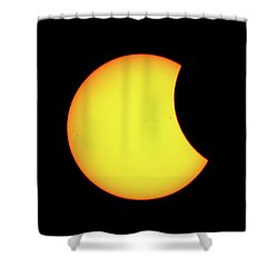 Partial Eclipse 1 Shower Curtain