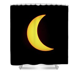 Partial Eclipse 4 Shower Curtain