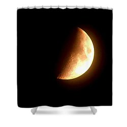 Partial Moon Shower Curtain
