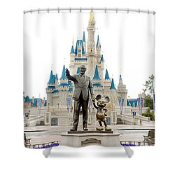 Partners Shower Curtain by Greg Fortier