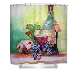 Party Arrangement Shower Curtain